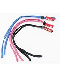 Nuevo 3 pzas Cordones para Gafas niños Azul Azul