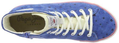 Pepe Jeans London DUBJ-291 C PGS30010 554 Mädchen Sneaker Violett (electric blue)