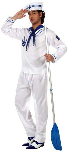 Librolandia - costume marinaio per gli uomini, taglia M / L (10258)