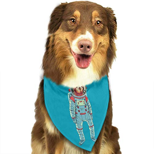 Sdltkhy Space Sloth Triangle Bandana Scarves Accessories for Pet Cats and Dogs - ()