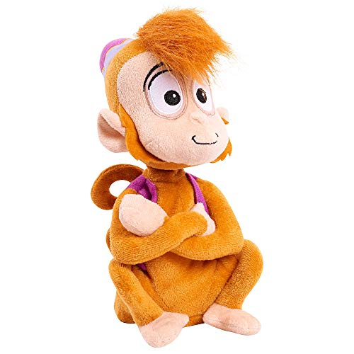 Disney Official Store Aladdin Abu The Monkey Chatterback Talking Soft Plush Toy