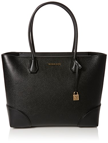 Michael Kors Damen Mercer Gallery Tote, Schwarz (Black), 15.2x29.2x45.7 Centimeters