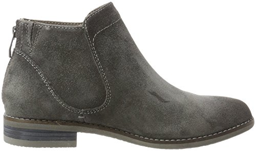 Be Natural Damen 25422 Chelsea Boots Grau (Graphite)