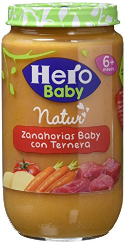 Hero Baby - Zanahorias Baby Delicias De Ternera 235 g - [pack de 6]