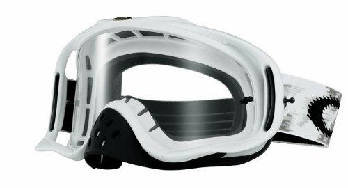 Oakley Mx Goggle CROWBAR, matte white speed/clear, UNI, 57-952 (Oakley-goggles Motocross)