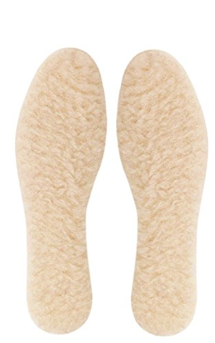 company.no121 Wolle Einlegesohlen für Stiefel und Schuhe Einlegesohlen für Mensch und Woman. Innensohle für Damen Geeignet für High Heels und Sandals. Schuheinlagen, Größe-Zubehör (Zubehör Einlegesohlen Damen)