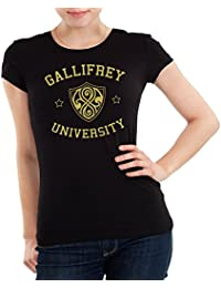 Getting Shirty Gallifrey University (inspired by Doctor Who) Womens T-Shirt