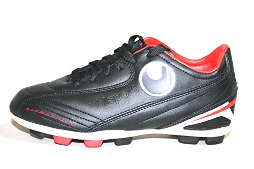 Uhlsport Chaussures de sport kikk Team Jr. XGR Chaussures en Kick équipe Jr. XGR Black/Red dans kikk Chaussures Team Jr. XGR Black/Red - Kikkschuh Team Jr. Xgr Black/Red
