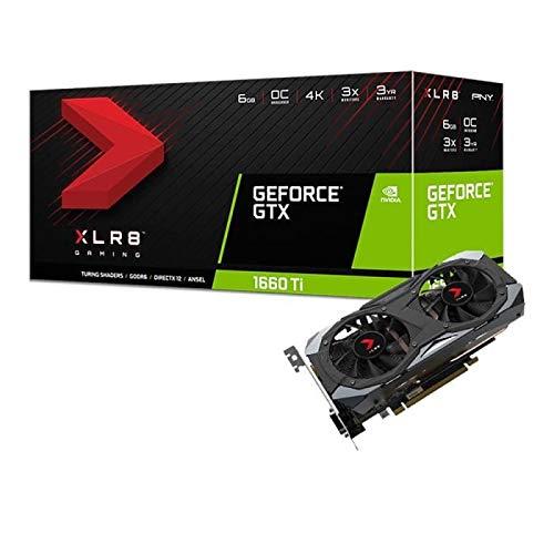 PNY GeForce GTX 1660 TI 6 GB XLR8 Gaming OC Limited Edition-Grafikkarte