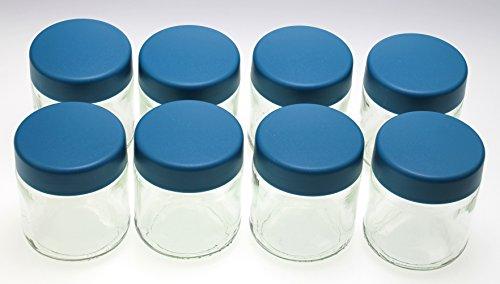 gläser á 150 ml gr für JG 3516 Joghurt-Fix Severin EG 3517 Ersatzgläser 8 stk