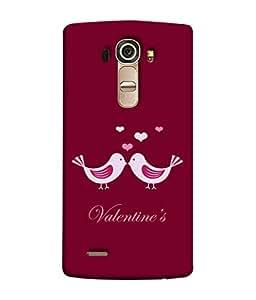 PrintVisa Designer Back Case Cover for LG G4 :: LG G4 Dual LTE :: LG G4 H818P H818N :: LG G4 H815 H815TR H815T H815P H812 H810 H811 LS991 VS986 US991 (Caption Symbol Couple Dark Background Picture Backcover)