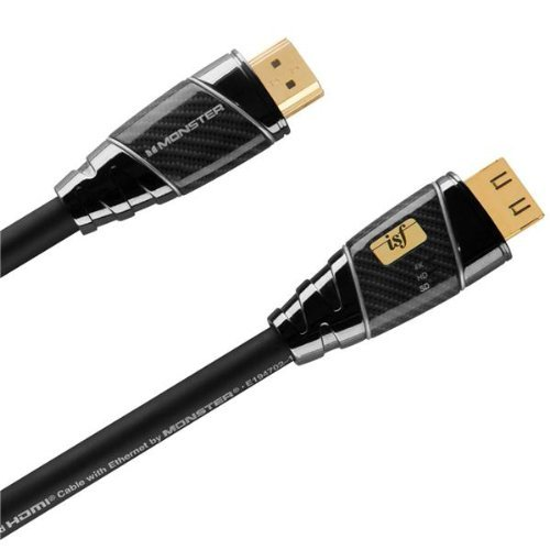 Monster ISF 1250HD Ultimate High Speed HDMI Kabel (2,74m) schwarz Monster Hdmi-adapter