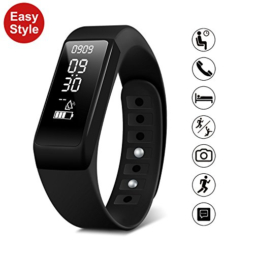 Smart pulsera reloj Fitness Tracker – SMbox inalámbrico USB de ca