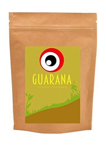 Goldener Zweig – Pures Guarana ohne Zusätze – 250g - Premium Guaranapulver in hoher Qualität im wiederverschließbarem Standbodenbeutel