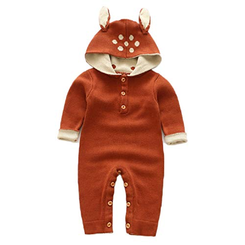 Fawn Baby Kostüm - CMX-604 Dreidimensionale Fawn Pullover Pullover Pullover Overall Jumpsuit 73CM