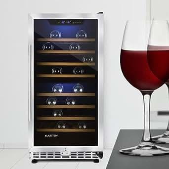 klarstein piccola reserva cave vin r frig r e design 240 litres pour jusqu 39 76 bouteilles. Black Bedroom Furniture Sets. Home Design Ideas