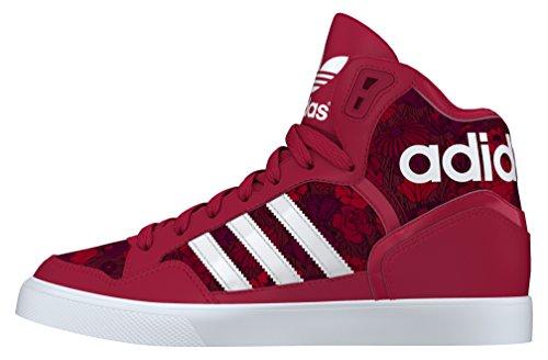 adidas - Extaball W, Scarpe sportive Unisex – Adulto Rosso (Rojo (Rojfue / Ftwbla / Tintec))