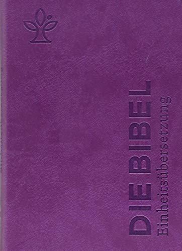 Die Bibel. Senfkorn, Handschmeichler lila: Einheitsübersetzung, Gesamtausgabe