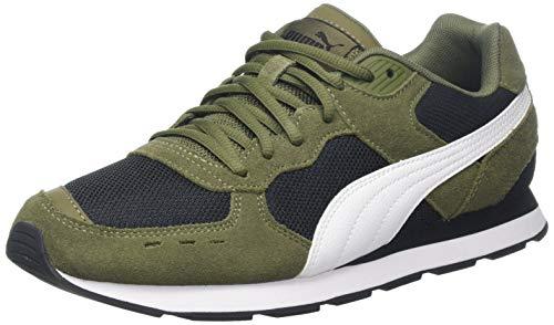 Puma Unisex-Erwachsene Vista Sneaker, Grün (Burnt Olive-Puma White-Puma Black 08), 38.5 EU (5.5 UK)