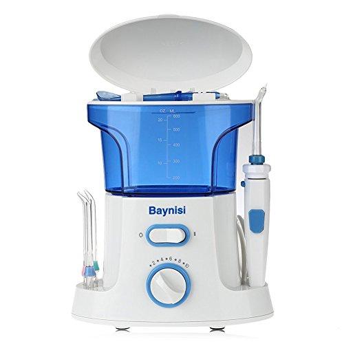 Munddusche Gerät, Baynisi Elektrisch Mund Water Jet Reinigungssystem für Zahnpflege und Zahnzwischenraum Reinigung