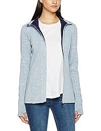 Bench Long Zip Jacket, Gilet Femme