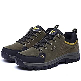 Fashion Leather Formal Shoes,Men's Leather-Lined Lightweight Shoes Men Hiking Shoes Climbing Shoes Outdoor Trekking Shoes Mountain Casual Shoes 3