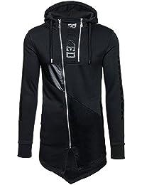 BOLF – Sweat-shirt à capuche - Pull de sport – avec impression – J.STYLE Y55 - Homme
