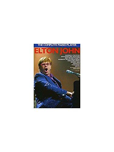 The Complete Piano Player: Elton John. Partitions pour Piano, Chant et Guitare(Symboles d'Accords)
