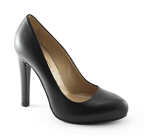 Chaussures Decolletè Femme Divine 420400 Plateau Talon Follie Noir 8mNwvOn0