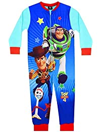Disney Pixar Toy Story 4 Niños Onesie Buzz y Woody Forky Niños del sueño Traje