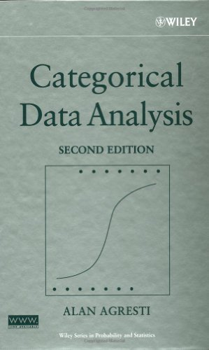 Categorical Data Analysis (Wiley Series in Probability and Statistics) by Alan Agresti (2002-07-22)