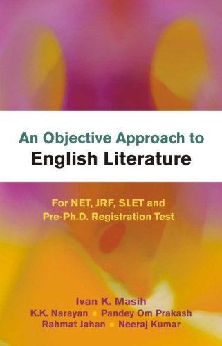 An Objective Approach to English Literature for NET, JRF, SLET and Pre-Ph.D. Registration Test 01 Edition price comparison at Flipkart, Amazon, Crossword, Uread, Bookadda, Landmark, Homeshop18