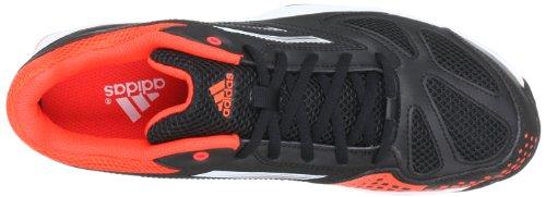 adidas Feather Team 2 Synthetic Q35447 Herren Hallenschuhe Schwarz (Black 1 / Running White Ftw / Infrared)