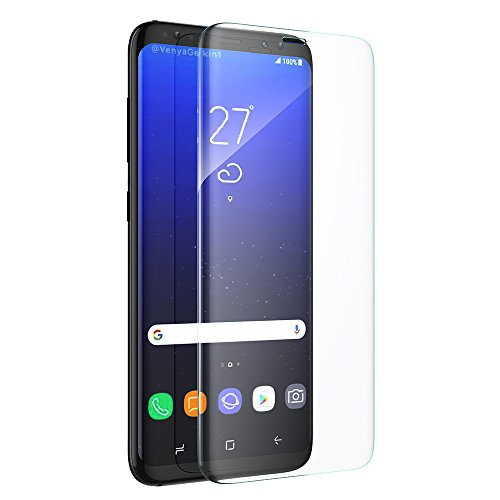 Galaxy S8 Screen Protector, Zellar [2 Pack] Full Coverage 3D Curved Touch Compatible Tempered Glass Screen Protector For Samsung Galaxy S8 Test
