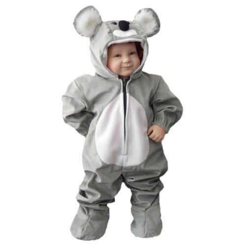 J42/00 Gr. 92-98 Koala Kostüm für Fasching und Karneval, Kostüme für Baby Babies Kleinkinder, Faschingskostüm, (Koala Kostüme Baby)