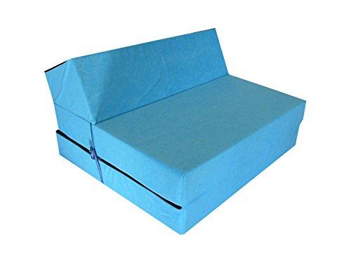 Jugend Kindermatratze Kindersessel zum schlafen und spielen (Blau)