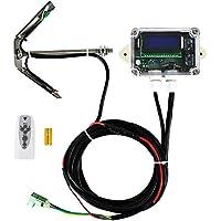 ECO-WORTHY - Monitor solar de un solo eje/doble eje con sensores para el sistema de seguimiento solar del panel solar