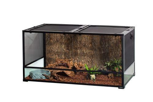 ReptiZoo Glas-Terrarium 120x60x60cm, zerlegbar - verschickbar! RK0227(ohne Inhalt)