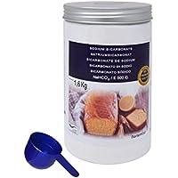 Bicarbonato de Sodio 1.6kg, Calidad Premium. Producto CE.