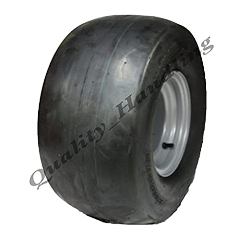 one 18x10.50-8 4ply Smooth tyre fitted to heavy duty steel