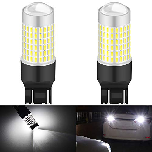 KaTur 7443 7444NA 7440 992 Ampoule LED Haute Puissance 3014 puces extrêmement Lumineuses 3000 lumens 6500K Blanc xénon à remplacer