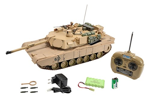 Carson 500907188 - Panzer, 1:16 M1 A2 Abrams, 27 MHz, 100% RTR Preisvergleich