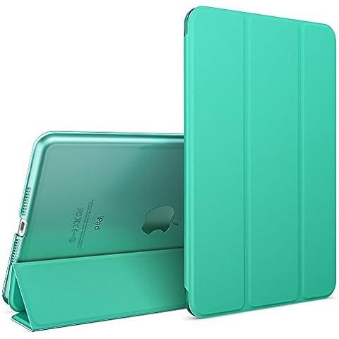 nica Smart Case Apple iPad Mini 4 Tablet Caso Ultrasottile Slim Cover - Multi Supporto Verticale Funzione Automatica Sveglia / Riposo - Turchese - Partito Personalizzati Mini