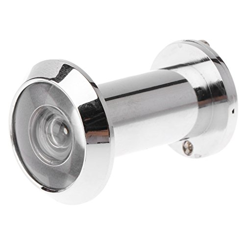 JOYKK einziehbare Kamera für zu Hause Überwachungskamera optisches Glas Diebstahlschutztürspion - Licht