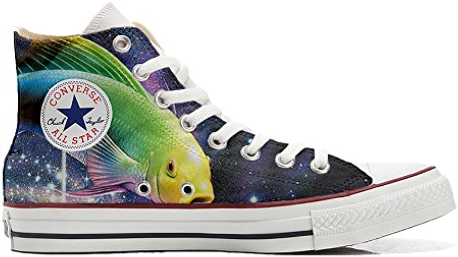 Shoes Custom Converse All Star  personalisierte Schuhe (Handwerk Produkt) Sushi