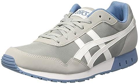 Asics Herren Curreo Sneakers, Grau (Midgrey / White), 44 EU