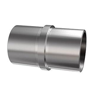 Rohrverbinder mit Mittelsteg- für Rohr Ø42,4 x 2,0 mm Steckfitting- V2A K320 0790.242