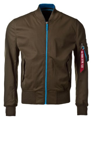 Alpha Industries Jacket MA-1 Soft Shell Olive