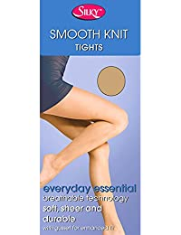 Silky Smooth Knit Everyday Tights With Panel Gusset (3 Pair Pack)