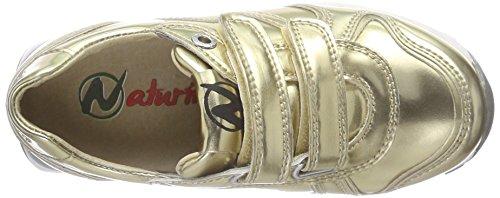 Naturino BOMBA Mädchen Sneaker Gold (Gold 9162)